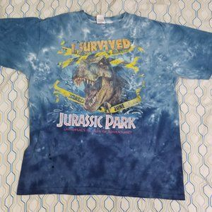 Universal Studios Jurassic Park Ride I Survived